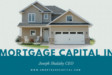 Joseph Shalaby - CEO of E Mortgage Capital Inc. Infographic