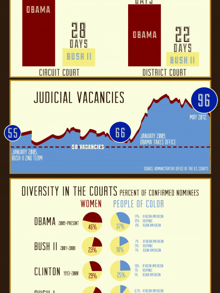 Judicial Obstruction Infographic