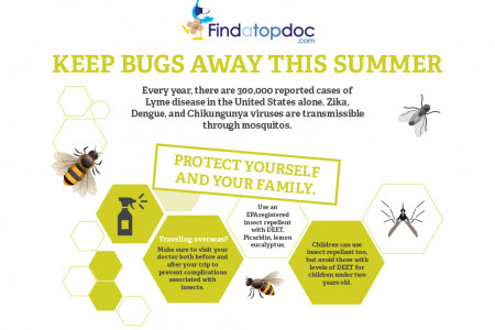 Keep Bugs Away This Summer Infographic