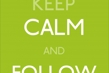 Keep calm and follow Holy Moley Jobs on Twitter Infographic