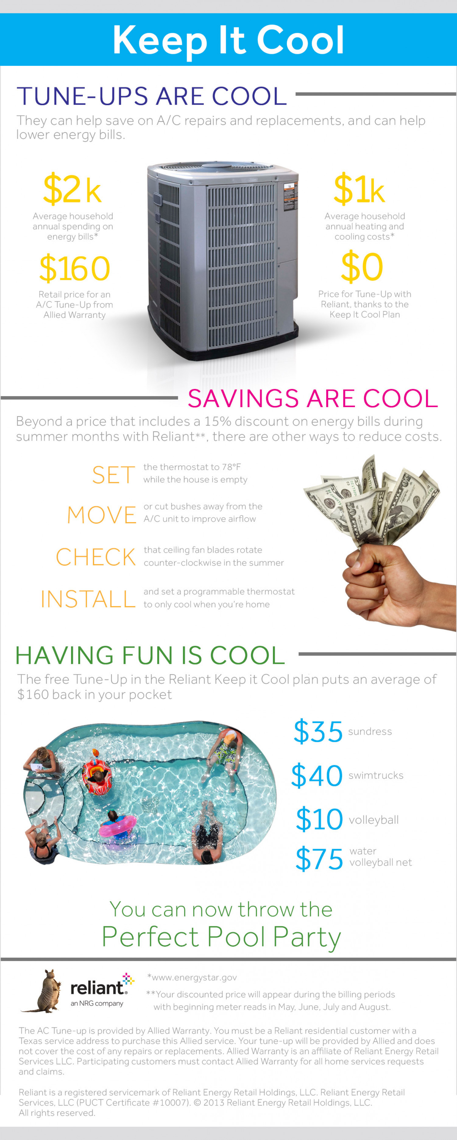 Keep it Cool Infographic Infographic