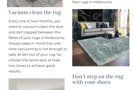 Keep your rug looking new with these proven techniques Infographic