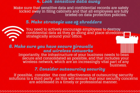 Keeping Business Information Safe  Infographic
