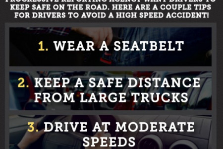 Keeping Safe on the Highway Infographic