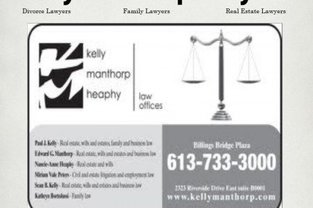 Kelly Manthorp Family Lawyers Infographic