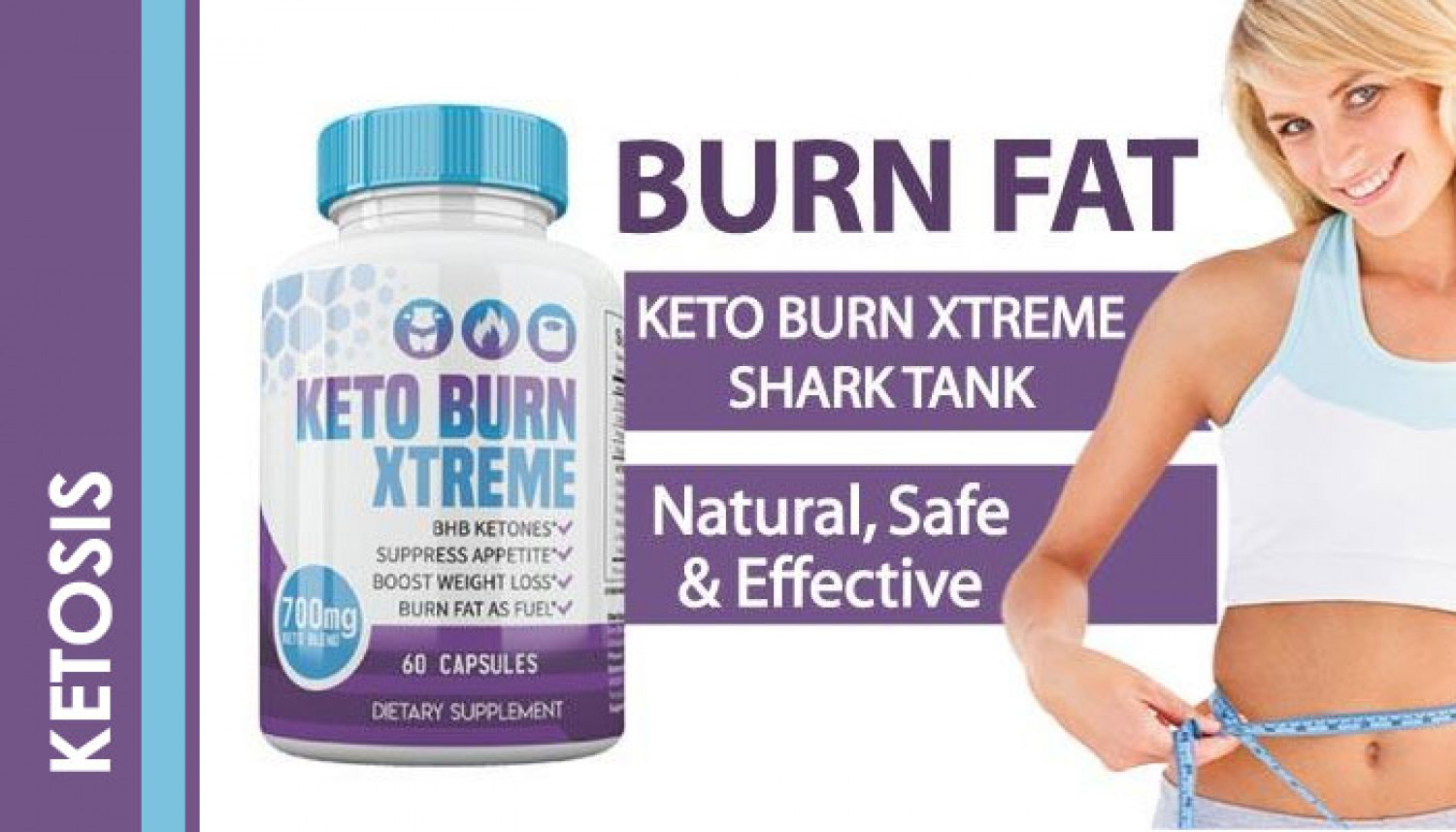 Keto Burn Xtreme for Weight Loss Infographic