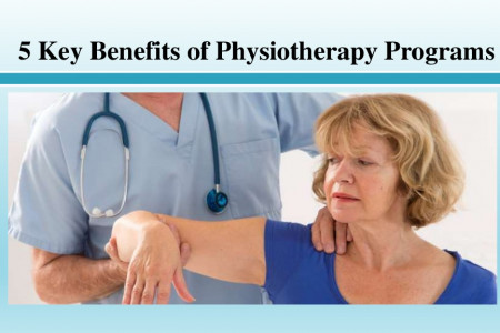 Key Benefits of Physiotherapy Programs Infographic
