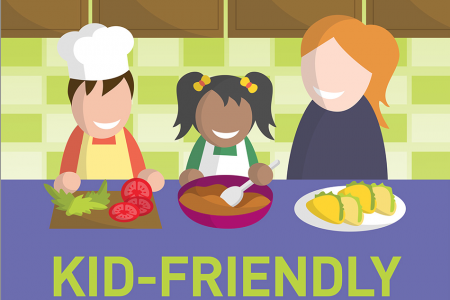 Kid-friendly Kitchen Tasks Infographic