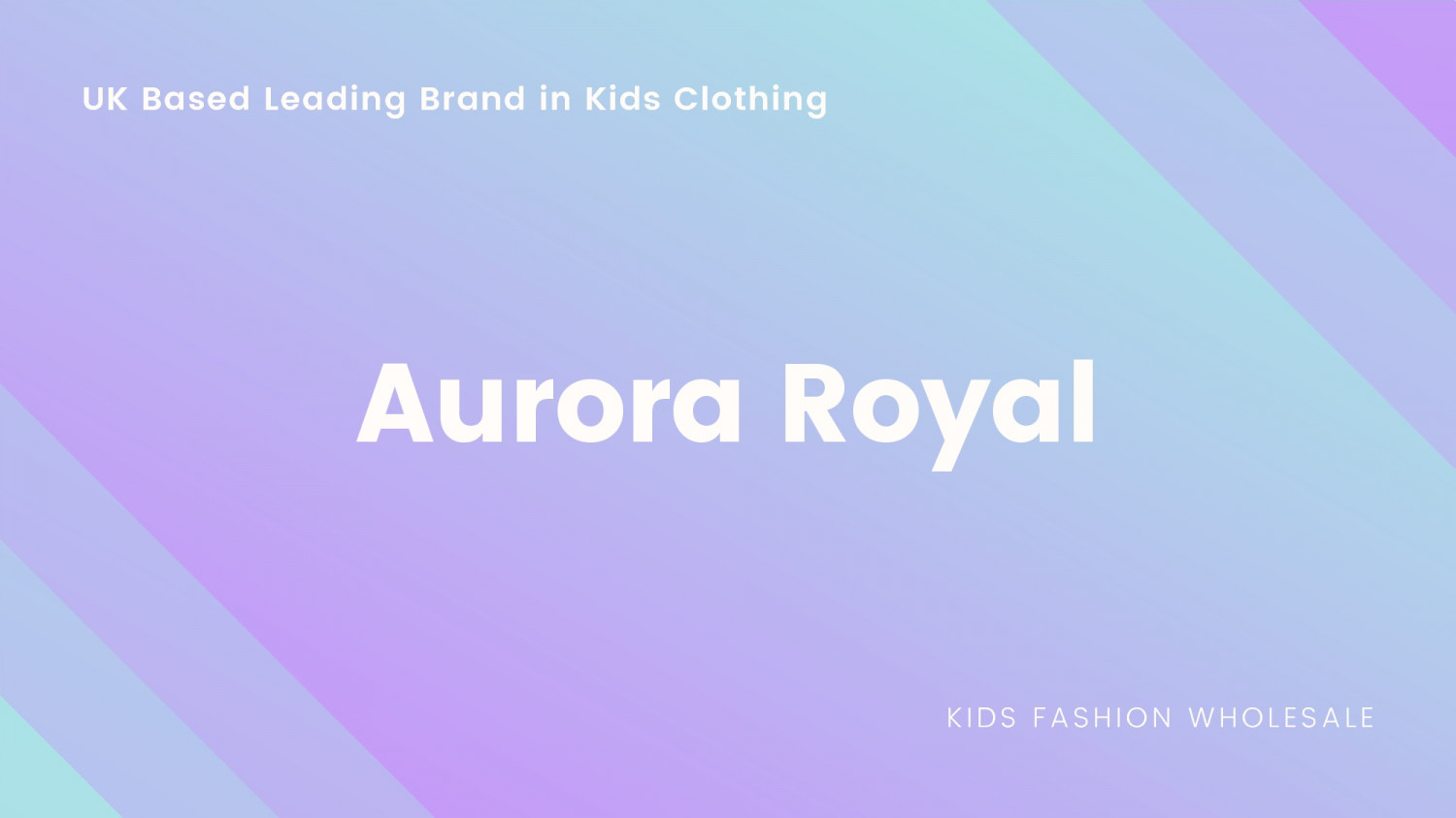 Kids Best Wholesale Fashion Clothings in UK Infographic