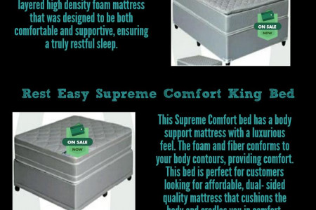 King Beds for Sale Infographic
