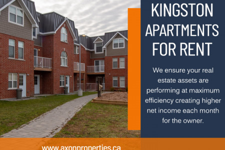 Kingston Apartments for Rent Infographic