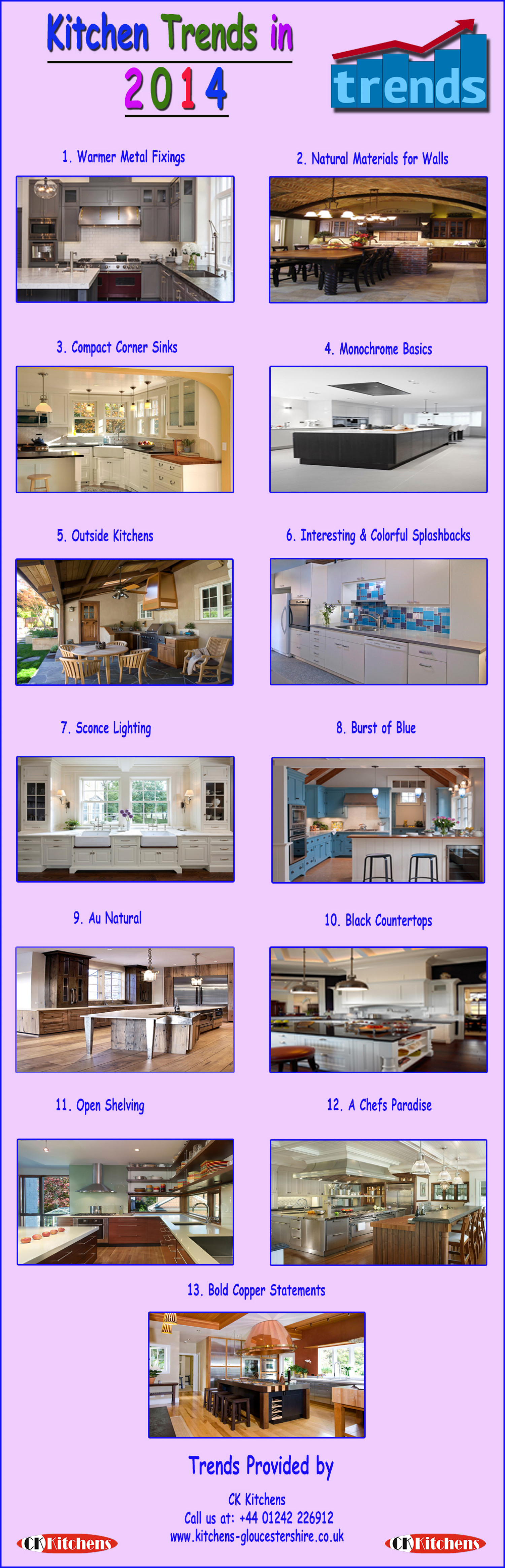 Kitchen Trends 2014 Infographic