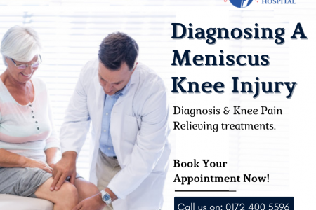 Knee Replacement Surgery in Chandigarh Infographic