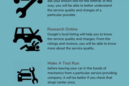 Know How You Can Choose The Best Car Repair Service Provider In The City Infographic