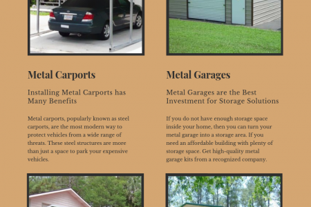 Know the Best Uses of Metal Building Kits Infographic