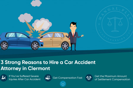 Know the three important reasons to hire a Car Accident Attorney Infographic