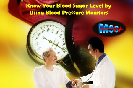 Know Your Blood Sugar Level by Using Blood Pressure Monitors Infographic