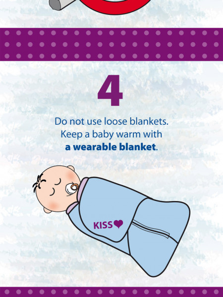 Canadian Infant Safe Sleep Infographic