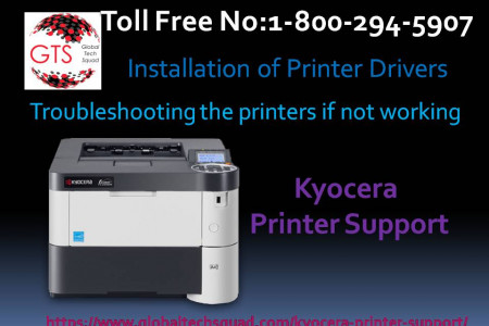 Kyocera Printer best provied services.Dial:(800) 294-5907 Infographic
