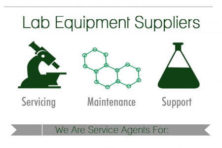 Lab Equipment Suppliers Infographic