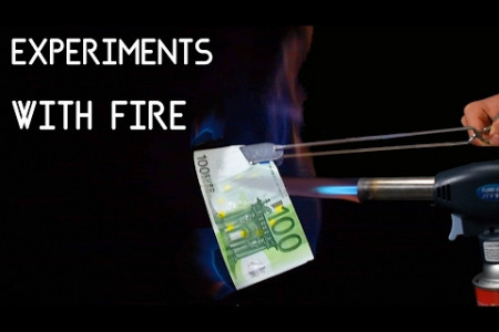 Lab Experiments with FIRE | Burning MONEY Infographic
