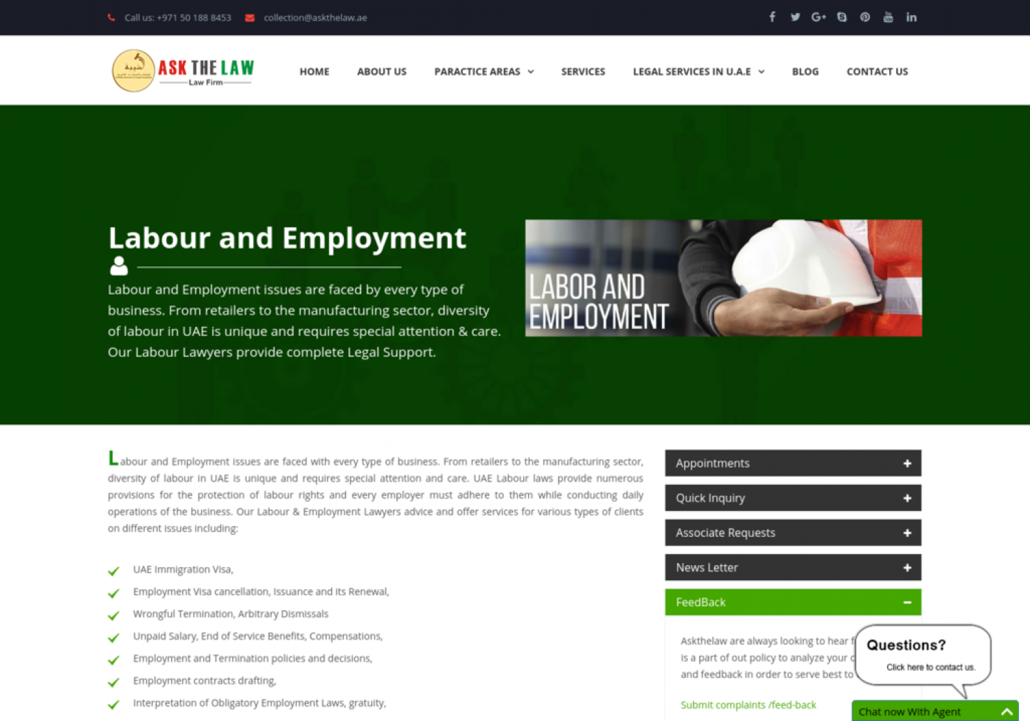 Labour and Employment  Infographic