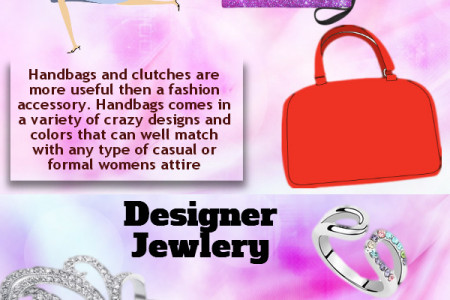 Ladies Fashion Accessories Infographic