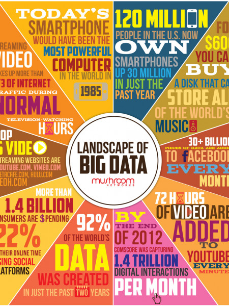Landscape of Big Data  Infographic