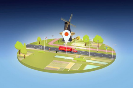 Landschappen NL - Thanks to the National Postcode Loterij Infographic
