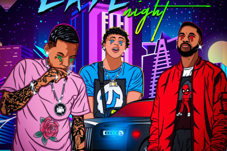 Late Night by Julien Caine, Kid Ink, Sethii Shmacct  Infographic