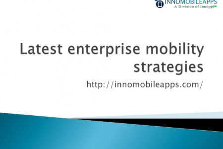 Latest Enterprise Mobility Strategies Infographic
