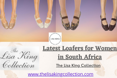 Latest Loafers for Women in South Africa Infographic
