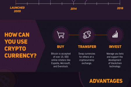 Launching Into Crypto - A Virtual Currency Infographic