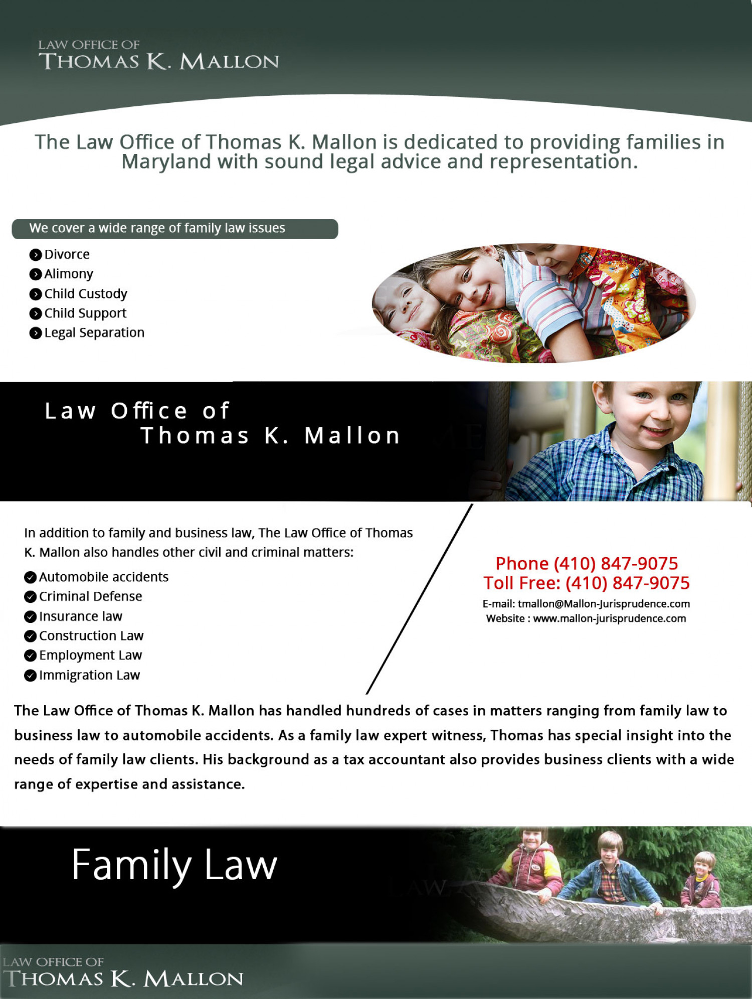 Law Office of Thomas K. Mallon Infographic