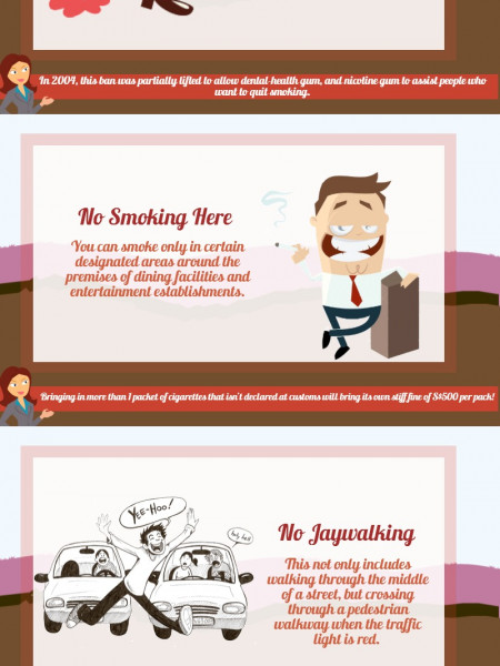 5 Laws in Singapore That Every Tourist Must Know Infographic