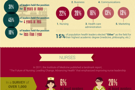 Leadership and Hierarchy in Hospitals Infographic