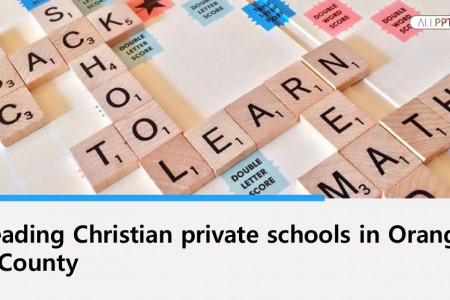 Leading Christian private schools in Orange County Infographic