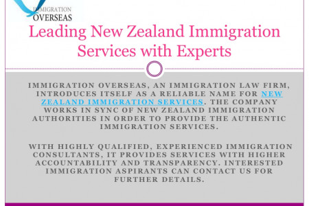 Leading Immigration for New Zealand with Expert Infographic