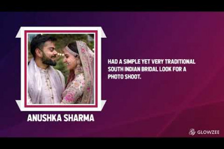 Learn About The Popular South Indian Bridal Makeup Looks In New York (Featuring Bollywood Celebrities) Infographic
