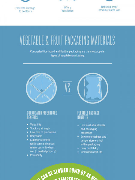 Agricultural Packaging Infographic