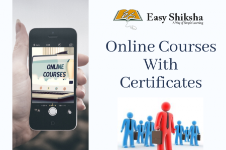 Learn Online  Courses With Certificates Infographic