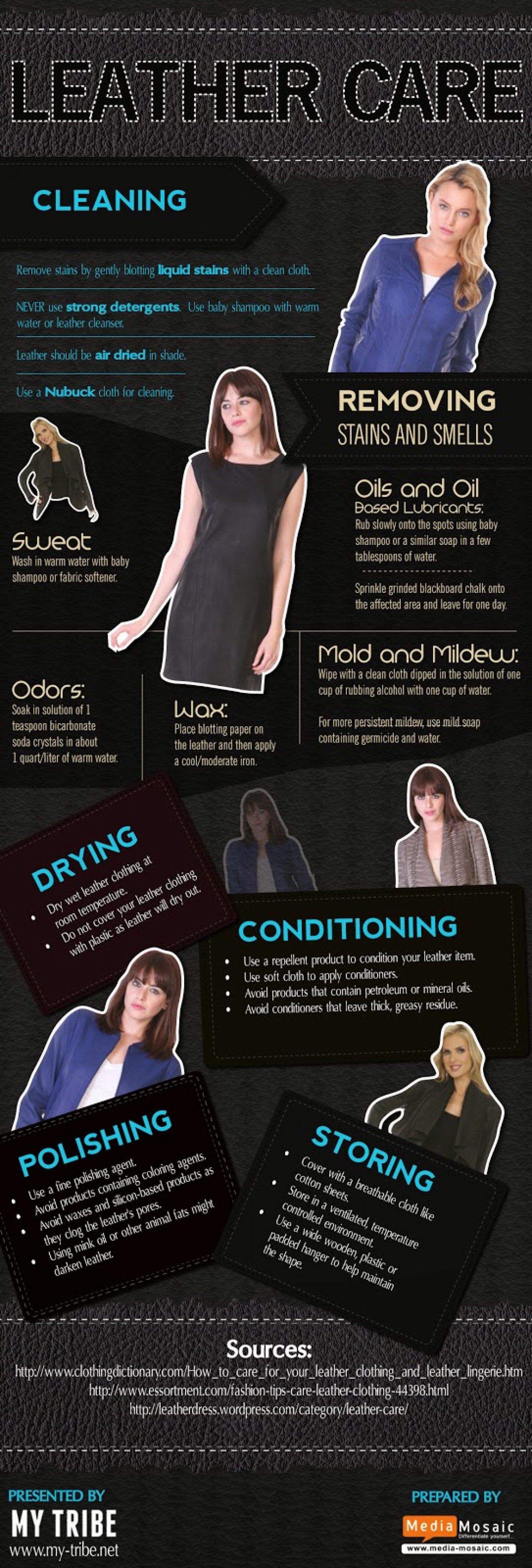 LEATHER CARE [Infographic] Infographic