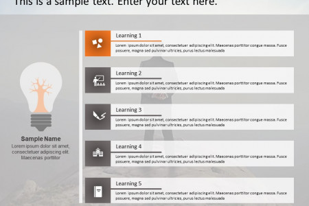 Lessons Learned PowerPoint Templates Infographic