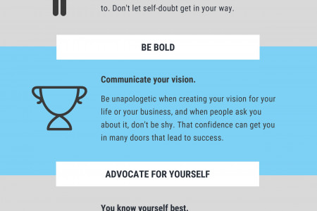 LESSONS TO LEARN FROM FEMALE ENTREPRENEURS Infographic