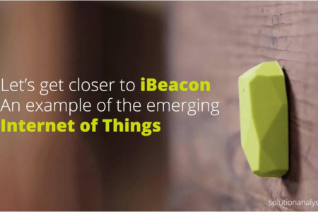 Let's get closer to iBeacon: An example of the emerging Internet of Things Infographic