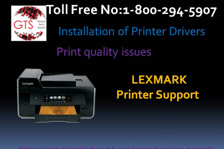 Lexmark Printer solution support Dial:(800) 294-5907 Infographic