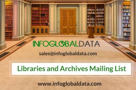 Libraries and Archives Mailing List Infographic