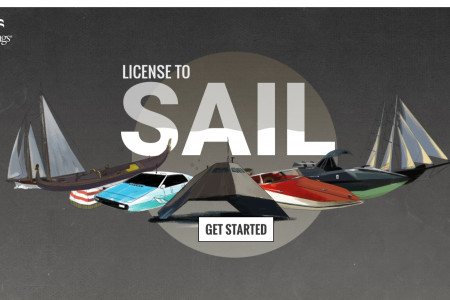 License to Sail - A James Bond Boat Experience Infographic
