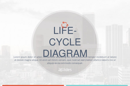 Life-Cycle Diagram PowerPoint Template | Free Download  Infographic