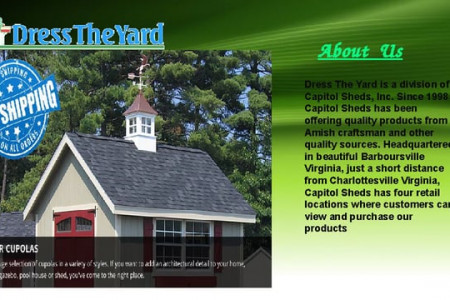 Lighthouse | Dress the Yard Infographic